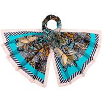 Accessoires textile Femme Echarpes / Etoles / Foulards Allée Du Foulard Etole soie Kashia Bleu