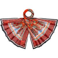 Accessoires textile Femme Echarpes / Etoles / Foulards Allée Du Foulard Etole soie Cosha rouge