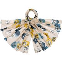 Accessoires textile Femme Echarpes / Etoles / Foulards Allée Du Foulard Etole soie Cogita Ecru