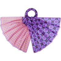 Accessoires textile Femme Echarpes / Etoles / Foulards Allée Du Foulard Etole soie Manao Violet