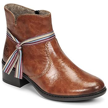 Chaussures Femme Bottines Rieker  Marron
