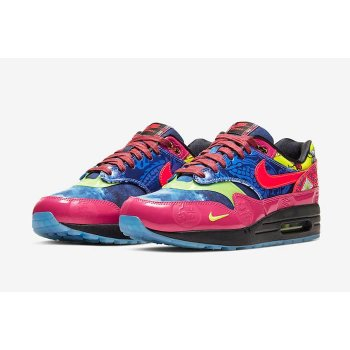 Chaussures Baskets basses Nike Air Max 1 CNY Longevity Game Royal/Laser Crimson