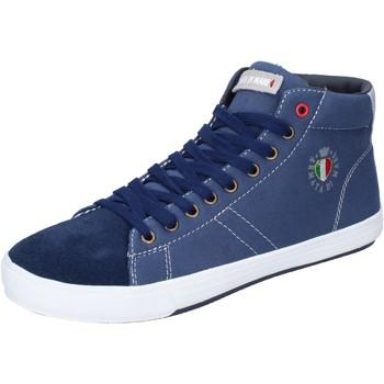 Chaussures Homme Baskets montantes Armata Di Mare BJ84 Bleu