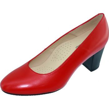 Chaussures Femme Escarpins Les Escarpins D'hotesses Voltige Alarm Free Escarpins Hotesses Rouge