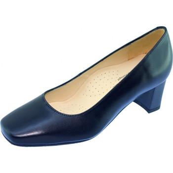 Chaussures Femme Escarpins Les Escarpins D'hotesses Papeete Alarm Free Escarpins Hotesses Bleu