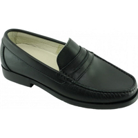 Chaussures Homme Mocassins Uniform-Shoes Extra Confort Mocassins Steward Noir