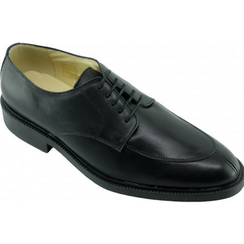 Chaussures Homme Derbies Uniform-Shoes Plymouth Alarm Free Derby Steward Noir