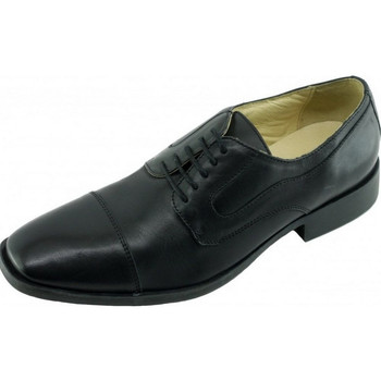 Chaussures Homme Derbies Uniform-Shoes Portsmouth Alarm Free Derby Steward Noir