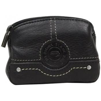 Sacs Femme Porte-monnaie Patrick Blanc Porte monnaie mixte  cuir CX0054 Noir