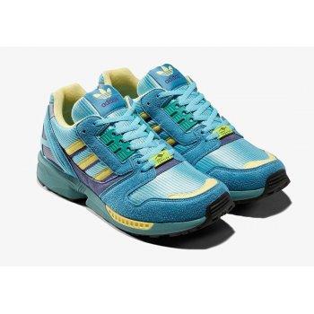 Chaussures Baskets basses adidas Originals ZX 8000 Light Aqua Light Aqua/Sand