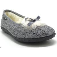Chaussures Femme Chaussons Semelflex VIOLA GRIS