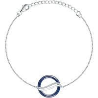 Montres & Bijoux Femme Bracelets Bleue Joaillerie Bracelet  en Céramique Bleue et Oxyde Bleu