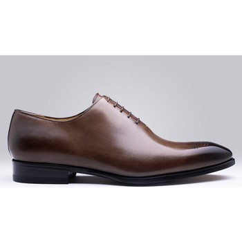 Chaussures Homme Derbies Finsbury Shoes VASCO Marron