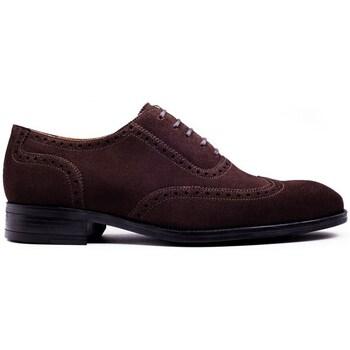 Chaussures Homme Derbies Finsbury Shoes ZACH Marron