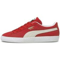 Chaussures Homme Baskets basses Puma Basket  SUEDE$SKU Rouge