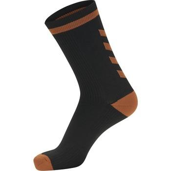 Accessoires Chaussettes Hummel Chaussettes  Elite Indoor Low noir/orange