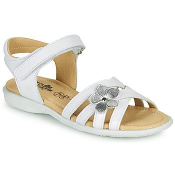 Chaussures Fille Sandales et Nu-pieds Citrouille et Compagnie HERTUNE Blanc