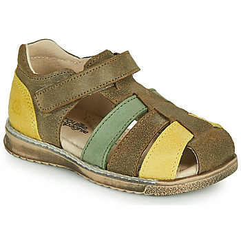 Chaussures Garçon Sandales et Nu-pieds Citrouille et Compagnie FRINOUI Kaki