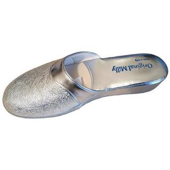Chaussures Femme Sabots Original Milly PANTOUFLE DE CHAMBRE MILLY - 4200 ARGENT Argenté