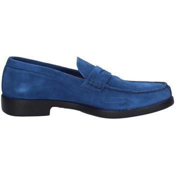 Chaussures Homme Mocassins Campanile X79 BLEU ÉLECTRIQUE