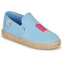 Chaussures Fille Ballerines / babies Citrouille et Compagnie OCELESTE Bleu ciel