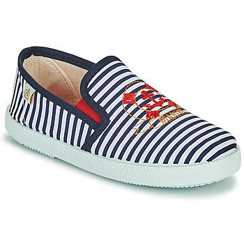 Chaussures Garçon Baskets basses Citrouille et Compagnie OCILO Marine