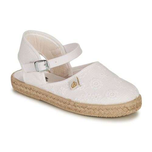 Chaussures Fille Ballerines / babies Citrouille et Compagnie ORINO Blanc
