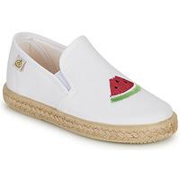 Chaussures Fille Ballerines / babies Citrouille et Compagnie OFADA Blanc