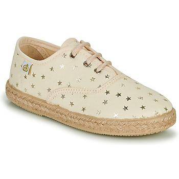 Chaussures Fille Baskets basses Citrouille et Compagnie OWAZA Doré