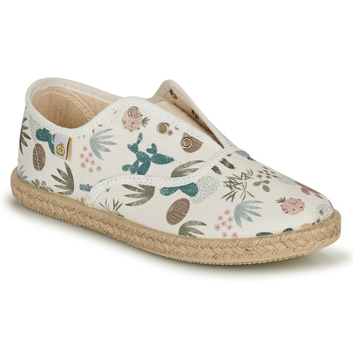 Chaussures Fille Baskets basses Citrouille et Compagnie OWAKA Multicolor