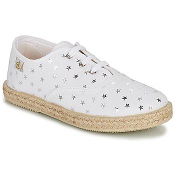 Chaussures Fille Baskets basses Citrouille et Compagnie OUAKA Argent