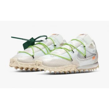 Chaussures Baskets basses Nike Waffle Racer x Off White White White/Electric Green-Black