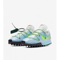 Chaussures Baskets basses Nike Waffle Racer x Off White Bleu Vivid Sky/Black-Electric Green