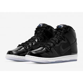 Chaussures Baskets montantes Nike SB Dunk High Space Jam Black/Black-Concord-White