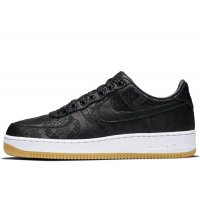 Chaussures Baskets basses Nike Air Force 1 Low x CLOT x Fragment Black Black / University Red – White