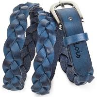 Accessoires textile Femme Ceintures Lois Braided Leather bleu