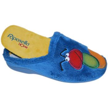 Chaussures Femme Chaussons Riposella RIP4593avio blu