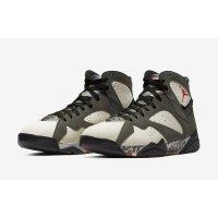 Chaussures Baskets montantes Nike Air Jordan 7 x Patta Icicle Icicle/Sequoia-River Rock-Light Crimson