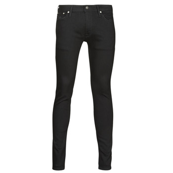 Vêtements Homme Jeans slim Jack & Jones JJILIAM Noir