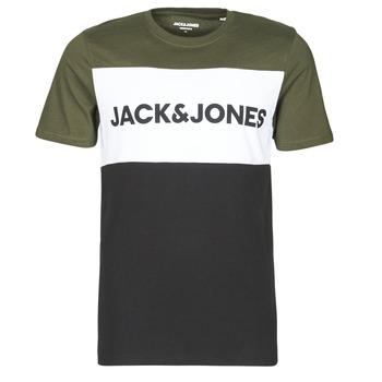 Vêtements Homme T-shirts manches courtes Jack & Jones JJELOGO Kaki