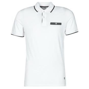 Vêtements Homme Polos manches courtes Jack & Jones JPRBLABOLTON Blanc