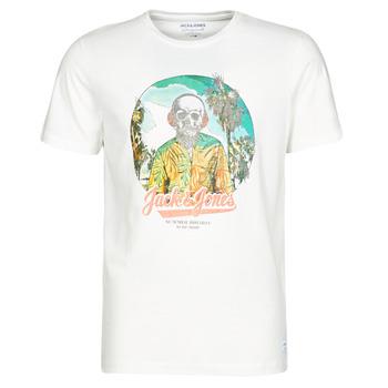 Vêtements Homme T-shirts manches courtes Jack & Jones JORDAAYS Blanc