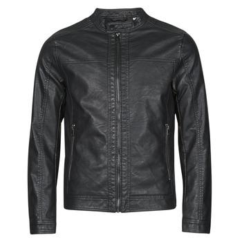 Vêtements Homme Vestes en cuir / synthétiques Jack & Jones JJEWARNER Noir