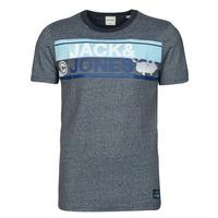 Vêtements Homme T-shirts manches courtes Jack & Jones JCONICCO Marine