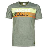 Vêtements Homme T-shirts manches courtes Jack & Jones JCONICCO Kaki