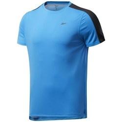 Vêtements Homme T-shirts manches courtes Reebok Sport Wor SS Tech Tee Bleu