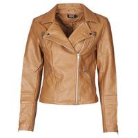 Vêtements Femme Vestes en cuir / synthétiques Only ONLGEMMA Cognac