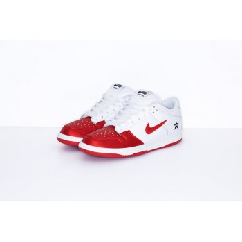 Chaussures Baskets basses Nike SB Dunk Low x Supreme Red-White Varsity Red/Varsity Red-White-Black