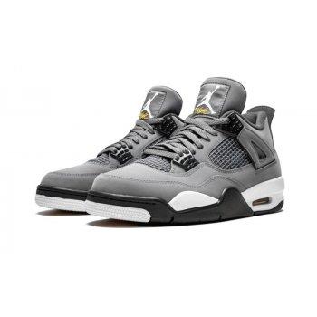 Chaussures Baskets montantes Nike Air Jordan 4 Cool Grey Cool Grey/Chrome-Dark Charcoal