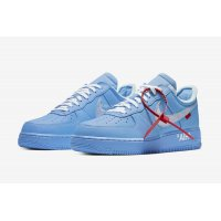 Chaussures Baskets basses Nike Air Force 1 Low MCA University Blue/White-University Red-Metallic Silver